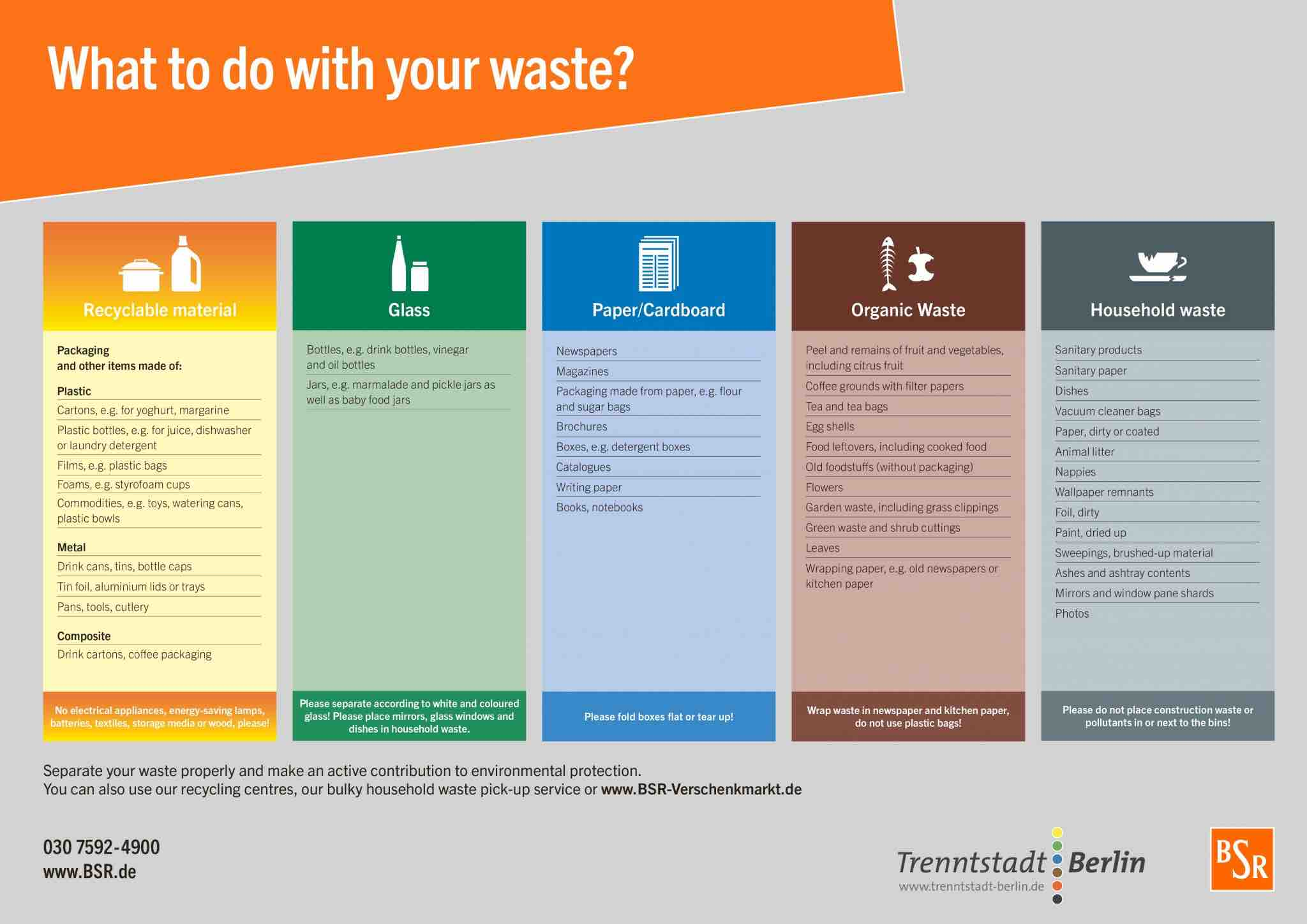 How to Recycle in Germany - Archer Relocation