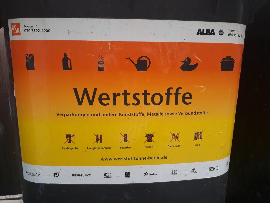 recycling in Berlin