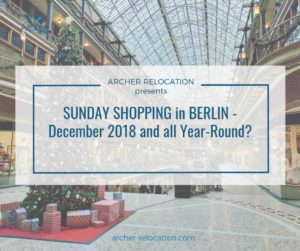 Sunday shopping in Berlin