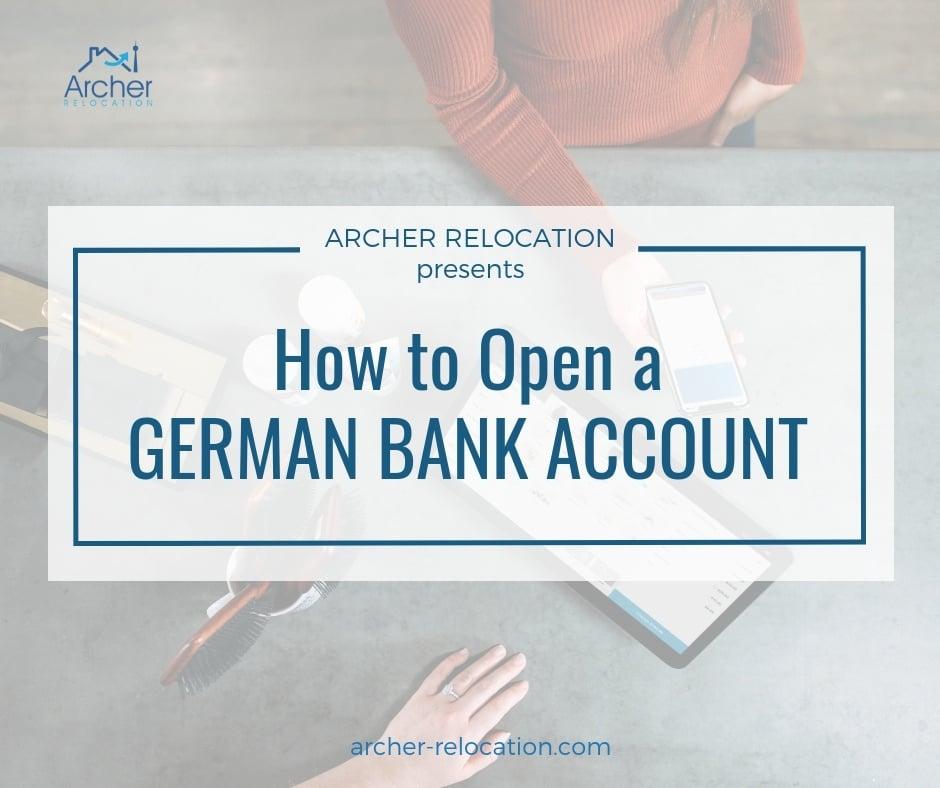 German bank account